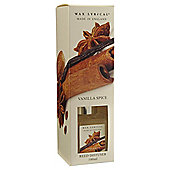 Wax Lyrical Made in England Vanillia Spice 100ml Reed Diffuser