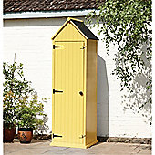 Yellow Beach Style Apex Sentry Storage Shed 2ft x 2ft