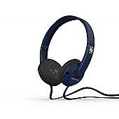 Uprock 2.0 On Ear Headphones with Mic Chelsea Navy/Chrome