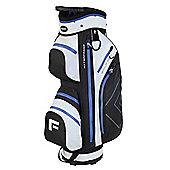 "Forgan Golfdry 9.5"" Waterproof Golf Trolley Bag White/Blue/Black"