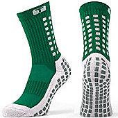 Trusox Mid-Calf Sock Thin - Green
