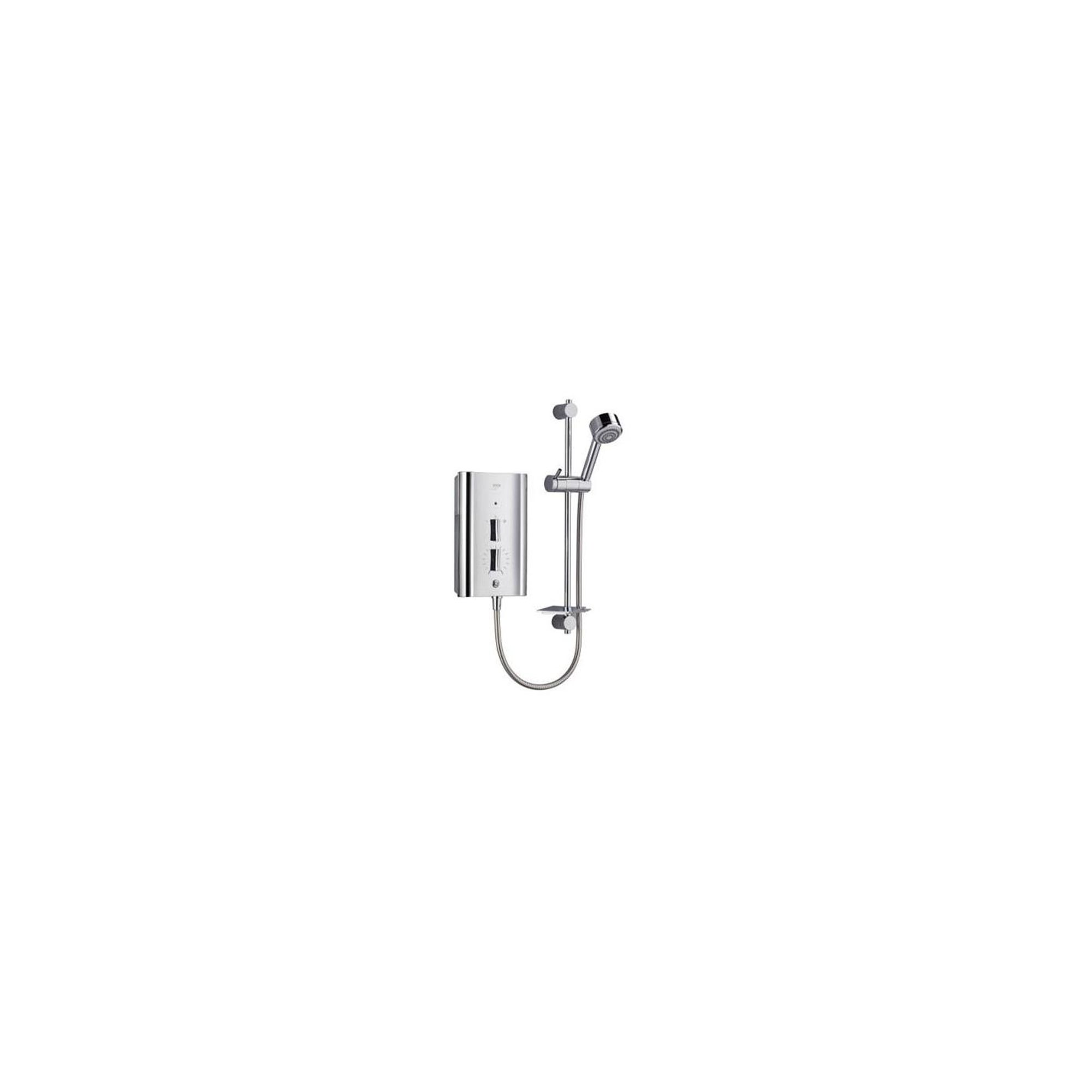 Mira Escape 9.8 kW Electric Shower, 4 Spray Handset, Chrome at Tesco Direct