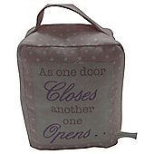 AS ONE DOOR Doorstop