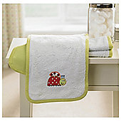 Lollipop Lane Lady Bug Burp Cloth 3Pk