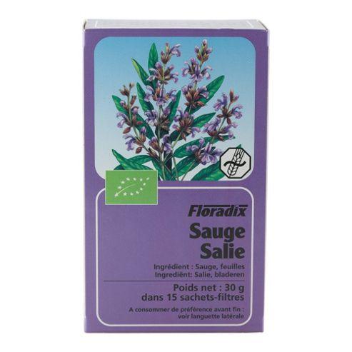 Salus Haus Floradix Sage Herb 15 x 30g TeaBags