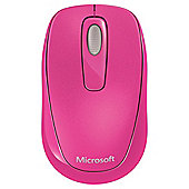 Microsoft 1000 Wireless Mobile Mouse - Red