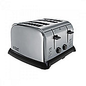 Russell Hobbs 22370 4 Slice Toaster with Variable Browning in Stainless Steel