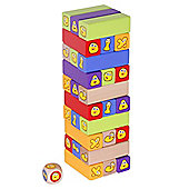 CBeebies Toppling Bugbies Wooden Game