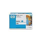 HP 642A LaserJet Toner Cartridge -Cyan