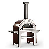 AlfaPizza Forno 4 Outdoor Pizza Oven - Copper - Gas Oven