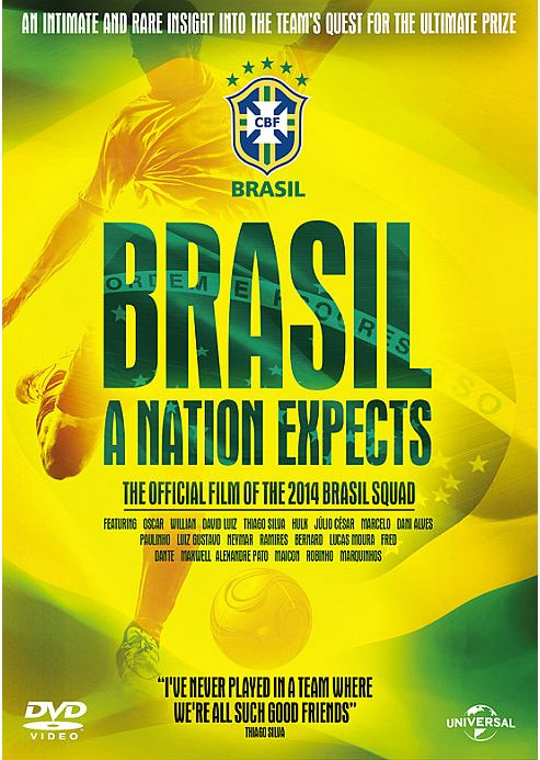 Brasil: A Nation Expects DVD