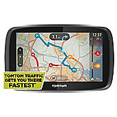 "TomTom Go 500 Sat Nav, 5"" LCD Touch Screen with European Maps"