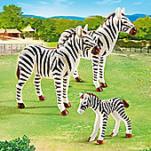 Playmobil City Life Zoo Zebra Family