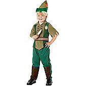 Peter Pan - Child Costume 3-4 years