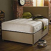 The Shire Bed Company EcoRange EcoSnug Divan Bed - Single (3') - No Drawer