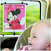 Tomy Minnie Mouse Adjust & Lock Car Shade (2pk)