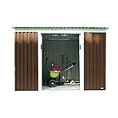 Bentley Garden 8ft x 4ft Metal Shed