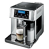 DeLonghi Patented Auto Bean to Cup Cappuccino Maker in Silver