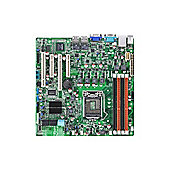 Asus P8B-M Server Motherboard, Intel, Socket H2 LGA-1155 x Retail Pack, Micro ATX, 1 x Processor Support, 32 GB DDR3 SDRAM Maximum RAM, Serial