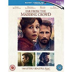 Far From The Madding Crowd Blu-ray + Digital HD UV