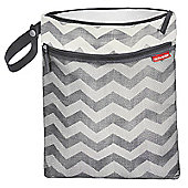 Skip Hop GRAB & GO Wet/Dry Bag (Chevron)