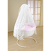 Leipold Flora Rondo Hanging Crib in Pink