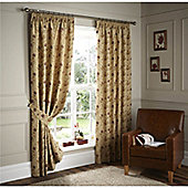 Curtina Cranley Natural 46x90 inches (116x228cm) Lined Curtains
