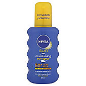 Nivea Moisturisng Sun Spray SPF50+ 200ml