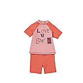 F&F Love To Swim Surf Suit - Coral