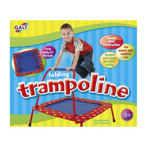 Kids Folding Trampoline Galt Indoor Or Outdoor Juniors