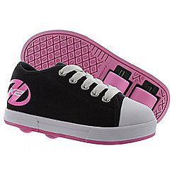 Heelys Fresh Black/Pink Kids HX2 Heely Shoe -UK 5
