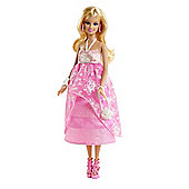 Barbie Floral Gown Doll