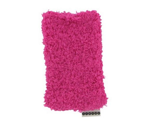 Trendz TZSKFHTPI Phone Sock Fluffy - Hot Pink
