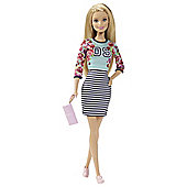 Barbie Fashionista Stripe Skirt Doll