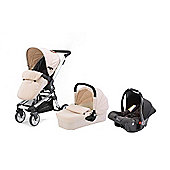 Baby Elegance Beep Twist Travel System - Cream