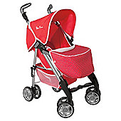 Silver Cross 3D Pushchair Poppy Domino