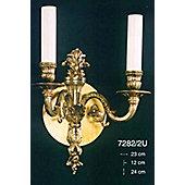 Martinez Y Orts 40W Two Light Bronze Wall Bracket - French Gold