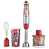 VonShef 3-in-1 Hand Blender Red