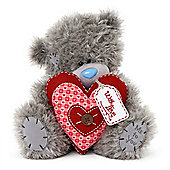 Me to You Tatty Teddy Bear holding heart with love tag