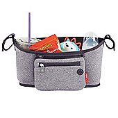 Skip Hop Grab & Go - Stroller Organiser (Heather Grey)