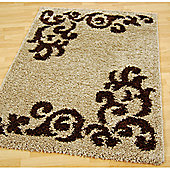 Origin Red Lotus Beige Rug - 220cm x 160cm