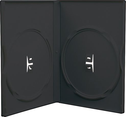 Slimline Double DVD Case 5 Pack