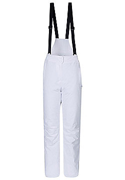 Moon Womens Ski Pants - White