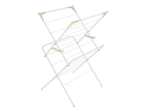 Addis 507311 2 Tier Airer White/Pale Green