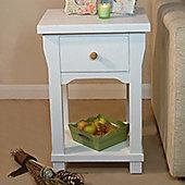 Baumhaus Hampton 1 Drawer Lamp Table in Ash