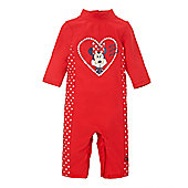 Minnie Mouse Sunsafe - Red