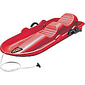Stiga Cobra 2 Seater Sledges with Brakes - Red