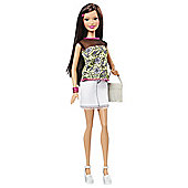 Barbie Fashionista Yellow Shirt Doll