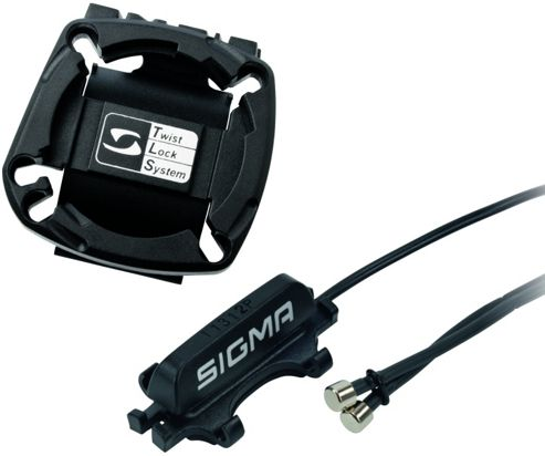 Sigma Sport CR2032 Universal Computer Mounting Bracket. With Speed Cable & Sensor