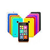 Cennett Nokia Lumia 530 Silicone Gel Case 10 in 1